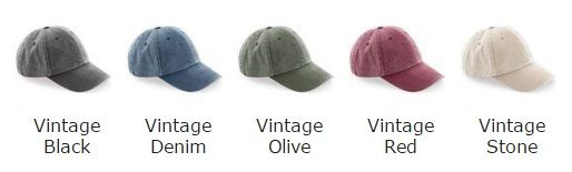 a9e23105d62 Personalised Low Profile Vintage Baseball Cap (BC655)